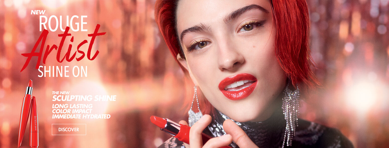 Discover ROUGE ARTIST SHINE ON : The new sculpting shine