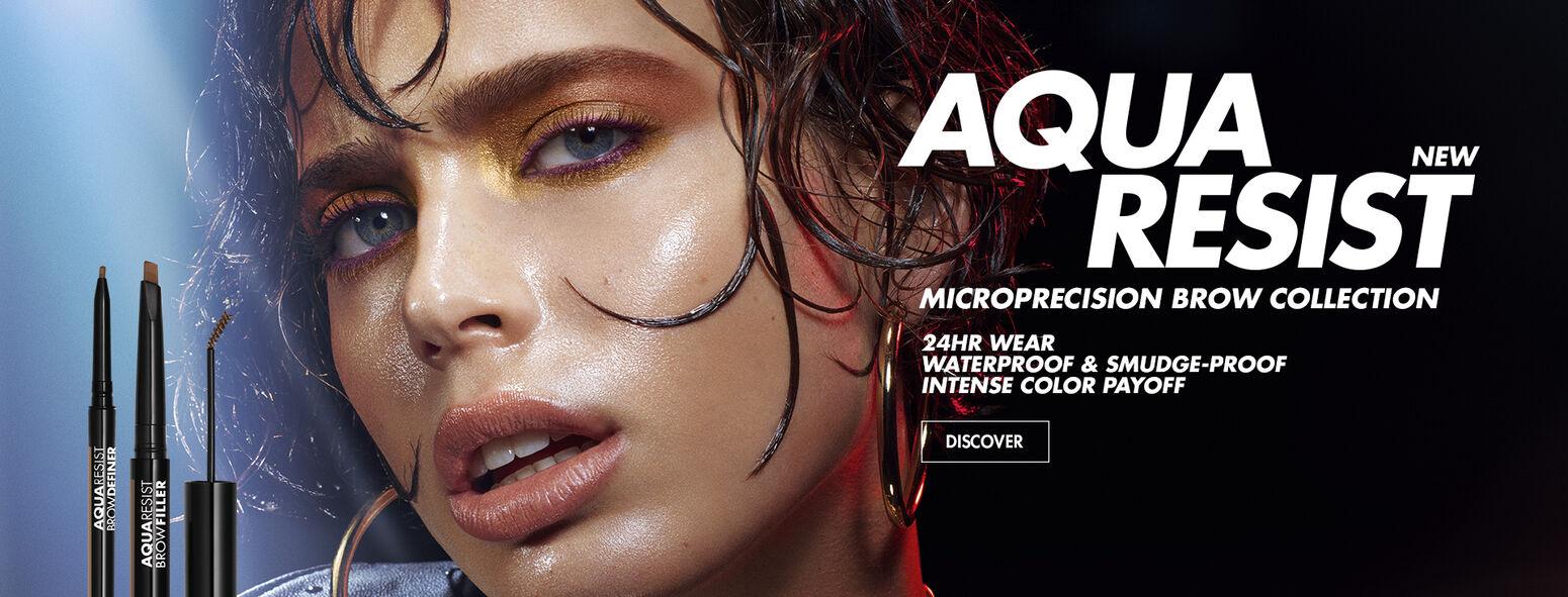 NEW - Aqua Resist Micro-Precision Brow Collection