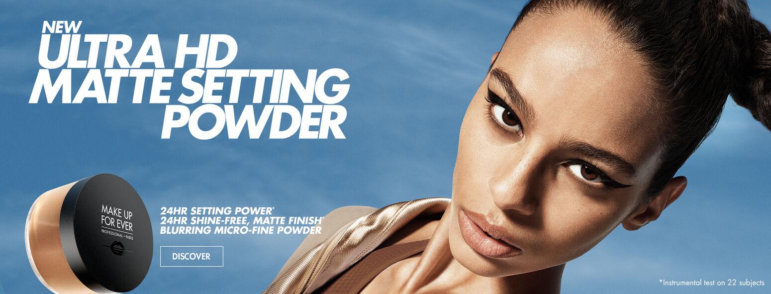 NEW Ultra HD Matte Setting Powder