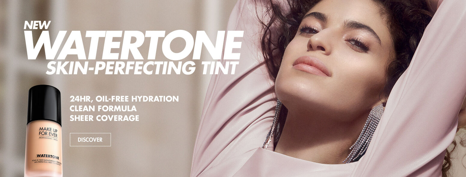 NEW Watertone Skin-Perfecting Tint- 24 HR, OIL FREE HYDRATION - CLEAN FORMULA - SHEER COVERAGE