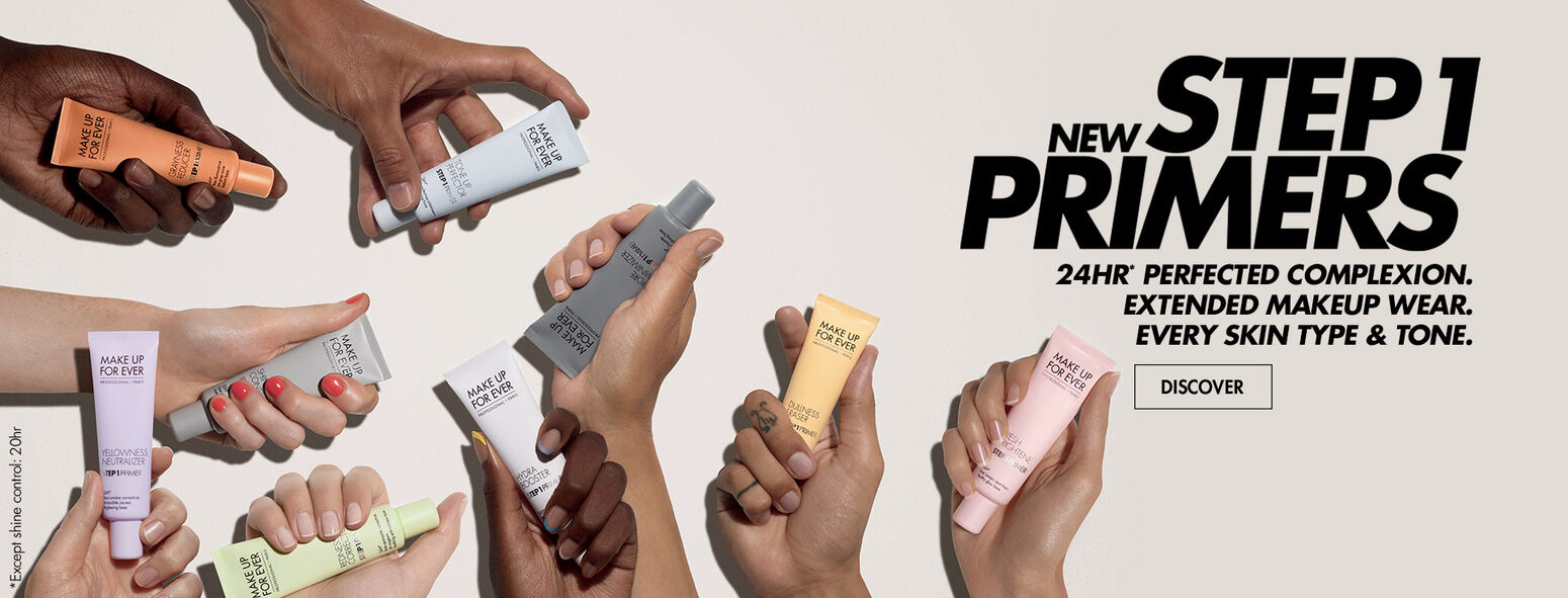 Step 1 Primer - 24HR perfected complexion, extended make up wear, every skin type and tone,