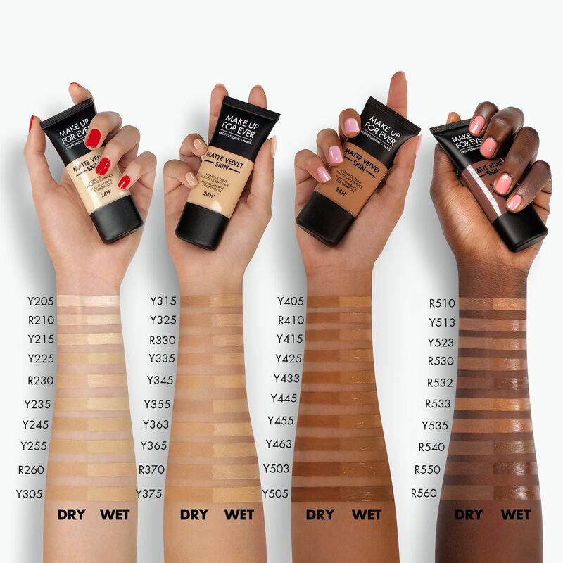 Matte Velvet Skin Liquid Foundation