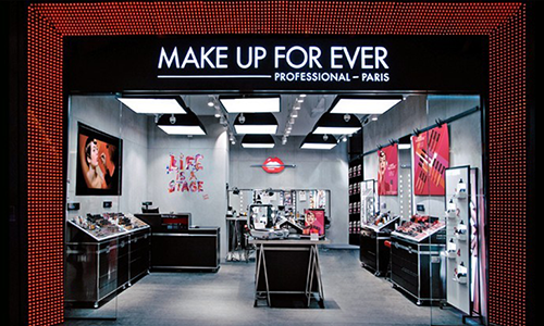 Boutiques Make Up For Ever