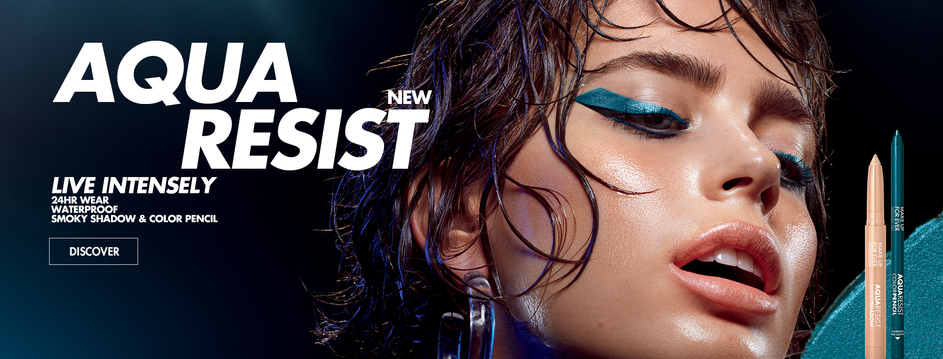 New Aqua Resist Smocky Shadow and Color Pencil