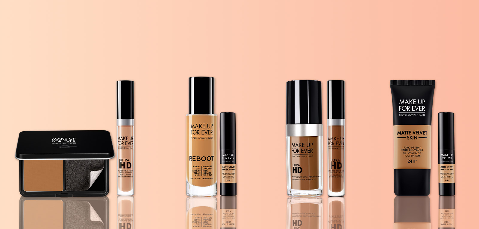 $55 when you mix and match any foundation + concealer